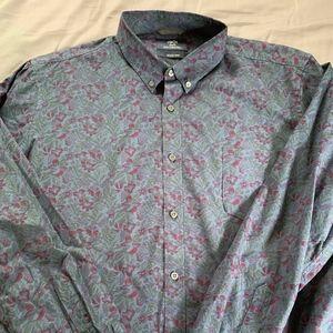 1901 Casual Button Down Shirt (XXL)